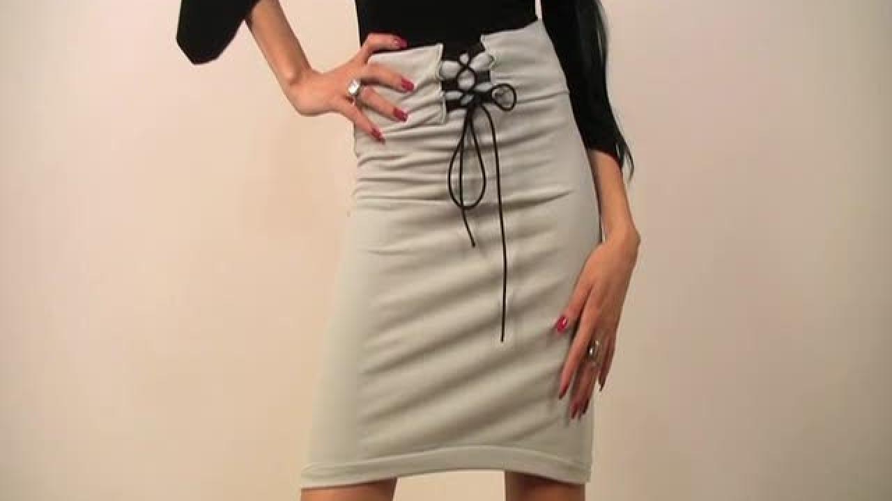 jupe taille haute