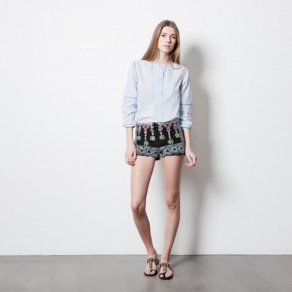 jupe short fantaisie